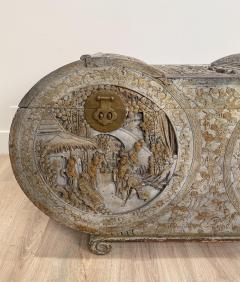 Circa 1880 Carved Camphor Trunk China - 1910950