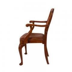 Circa 1880 George II Style Walnut Armchair - 1965441