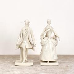 Circa 1880 Porcelain Figures France A Pair - 1952313