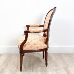 Circa 1890 French Walnut Armchair - 2015015