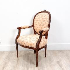 Circa 1890 French Walnut Armchair - 2015016