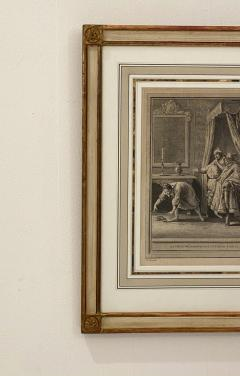 Circa 18th Century La Chate Metamorphosee En Femme Engraving France - 1855759