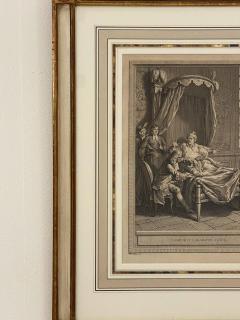 Circa 18th Century La Gouteet LAraignee Engraving France - 1862213