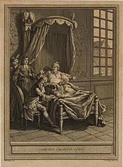 Circa 18th Century La Gouteet LAraignee Engraving France - 1864168