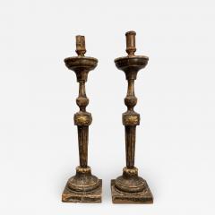 Circa 18th Century Louis XVI Candlesticks A Pair - 1894137