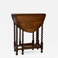 Circa 1900 English Oak Gateleg Table   319138