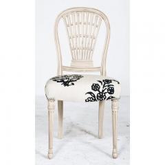 Circa 1900 Jansen Louis XVI Style Dining Chairs France Set of 6 - 2073087