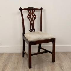 Circa 1900 Set of 8 Chippendale Style Dining Chairs England - 1904762