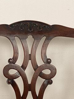 Circa 1900 Set of 8 Chippendale Style Dining Chairs England - 1904763