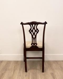 Circa 1900 Set of 8 Chippendale Style Dining Chairs England - 1904768