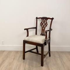 Circa 1900 Set of 8 Chippendale Style Dining Chairs England - 1904769