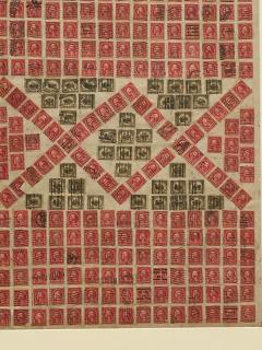 Circa 1910 Stamp Art Collage American - 2141234