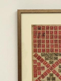 Circa 1910 Stamp Art Collage American - 2141236