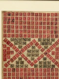 Circa 1910 Stamp Art Collage American - 2141237