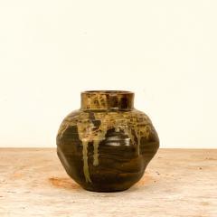 Circa 1920 Art Pottery Vase Japan - 2028729