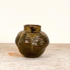 Circa 1920 Art Pottery Vase Japan - 2028732