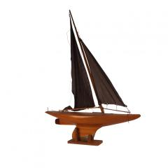 Circa 1920 Pond Yacht England - 2135743