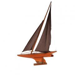 Circa 1920 Pond Yacht England - 2135747