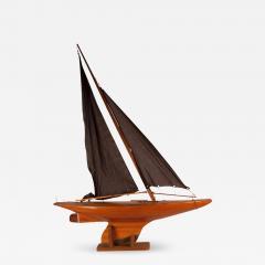 Circa 1920 Pond Yacht England - 2138954