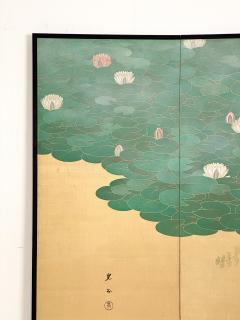 Circa 1920 Taisho Period 2 Panel Screen Japan - 1944074