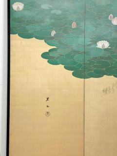 Circa 1920 Taisho Period 2 Panel Screen Japan - 1944075