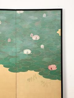 Circa 1920 Taisho Period 2 Panel Screen Japan - 1944076