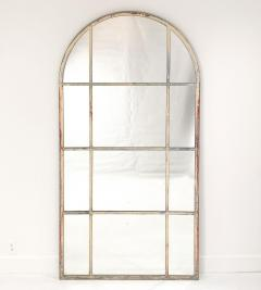 Circa 1920 Vintage Arched Mirror French - 2004398