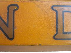 Circa 1930 Pencil Trade Sign - 146156