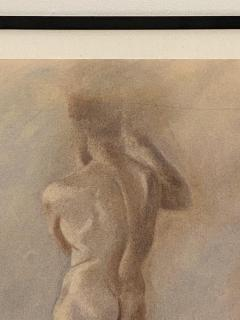 Circa 1950 Figural Sketch American - 2031822