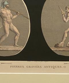 Circa 19th Century Antiquities Engraving Italy - 1849528