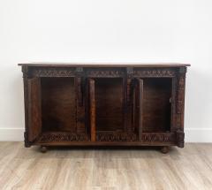 Circa 19th Century Himalayan Carved Cabinet - 1905874
