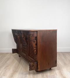 Circa 19th Century Himalayan Carved Cabinet - 1905876