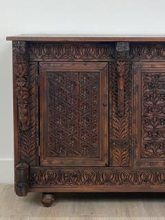Circa 19th Century Himalayan Carved Cabinet - 1905877