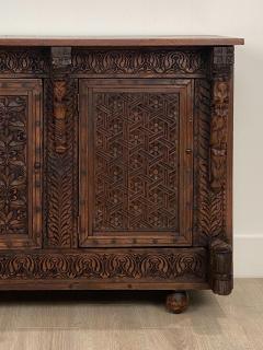 Circa 19th Century Himalayan Carved Cabinet - 1905878