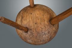 Circular 19th Century Large Milking Stool - 1233812