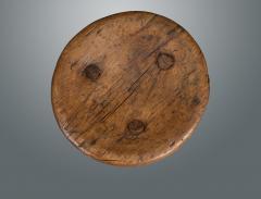Circular 19th Century Large Milking Stool - 1233813