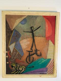 Circus Colorful Modern Painting - 1038502