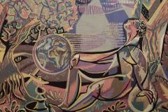 Claude Dodane Modern tapestry designed by Claude Dodane Allegorie du Temps - 953243