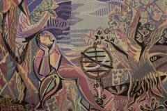 Claude Dodane Modern tapestry designed by Claude Dodane Allegorie du Temps - 953244