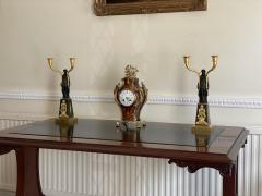 Claude Galle IMPORTANT PAIR OF EARLY EMPIRE FRENCH GILT BRONZE CANDELABRA - 2142087