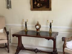 Claude Galle IMPORTANT PAIR OF EARLY EMPIRE FRENCH GILT BRONZE CANDELABRA - 2142088