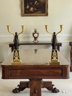 Claude Galle IMPORTANT PAIR OF EARLY EMPIRE FRENCH GILT BRONZE CANDELABRA - 2142091