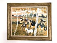 Claude Grosperrin Equestrian Rallies In The Woods - 1186125