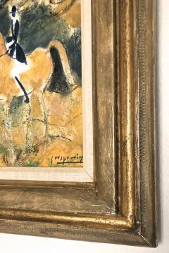 Claude Grosperrin Equestrian Rallies In The Woods - 1186127