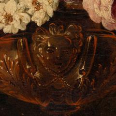 Claude HUILLIOT BUNCH OF FLOWERS IN AN ORNAMENTAL VASE C 1690 - 1271440