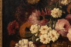 Claude HUILLIOT BUNCH OF FLOWERS IN AN ORNAMENTAL VASE C 1690 - 1271443
