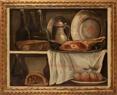 Claude Joseph Fraichot PAIR OF STILL LIFE PAINTINGS OF FOOD DRINK Circa 1750 - 1794054