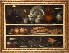 Claude Joseph Fraichot PAIR OF STILL LIFE PAINTINGS OF FOOD DRINK Circa 1750 - 1794055