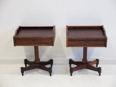 Claudio Salocchi Pair of Side Tables by Claudio Salocchi for Sormani Model SC 50 - 1172226