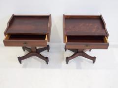 Claudio Salocchi Pair of Side Tables by Claudio Salocchi for Sormani Model SC 50 - 1172233